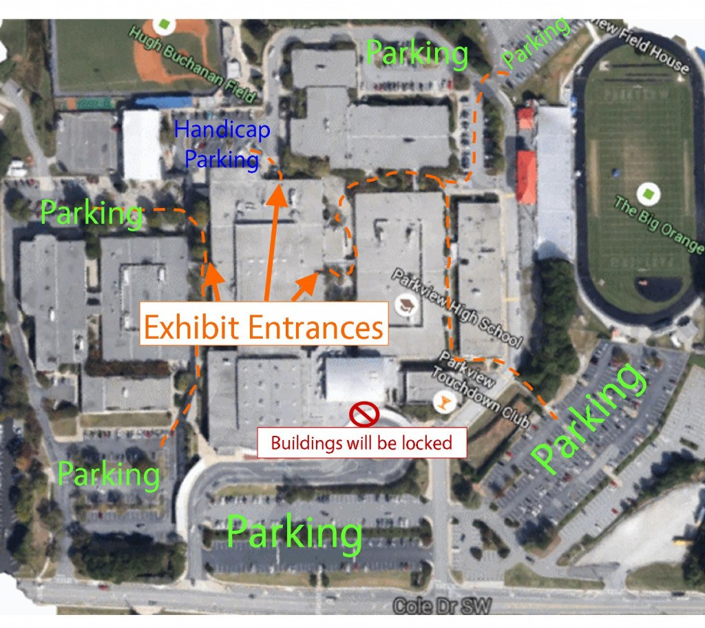 15-16 Parking Map for Parkview Rev A
